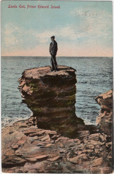 , Land's End, Prince Edward Island. (0872), PEI Postcards