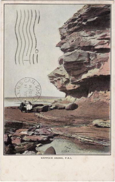 , Keppoch Shore, P.E.I. (0876), PEI Postcards