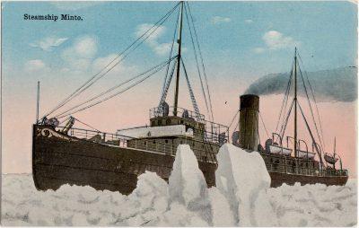 , Steamship Minto. (0885), PEI Postcards