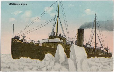 , Steamship Minto (0889), PEI Postcards