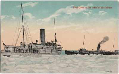 , Earl Grey to the relief of the Minto (0888), PEI Postcards