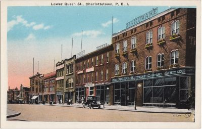 , Lower Queen St., Charlottetown, P.E.I. (0894), PEI Postcards