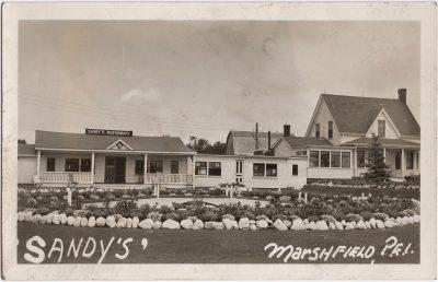, Sandy's, Marshfield, P.E.I. (0867), PEI Postcards
