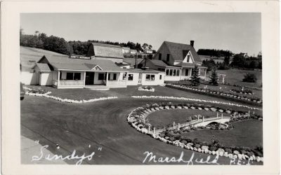 ", ""Sandy's"" Marshfield, P.E.I. (0864), PEI Postcards"