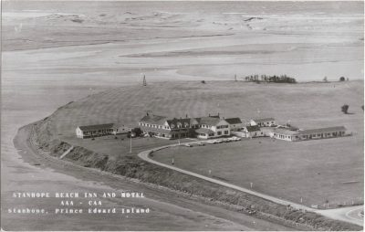 , Stanhope Beach Inn and Hotel. AAA – CAA. Stanhope, Prince Edward Island (0924), PEI Postcards
