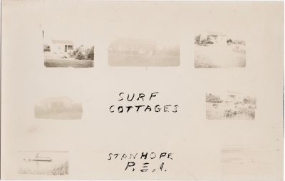 , Surf Cottages, Stanhope, P.E.I. (0928), PEI Postcards