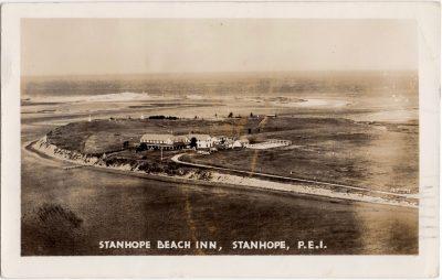, Stanhope Beach Inn, Stanhope, P.E.I. (0930), PEI Postcards