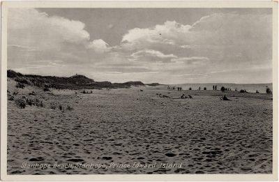 , Stanhope Beach, Stanhope, Prince Edward Island (0933), PEI Postcards