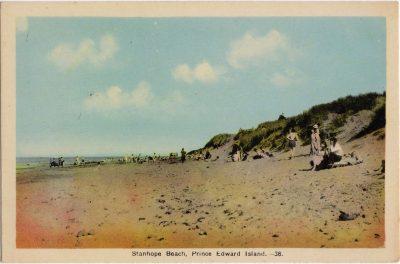 , Stanhope Beach, Prince Edward Island (0934), PEI Postcards