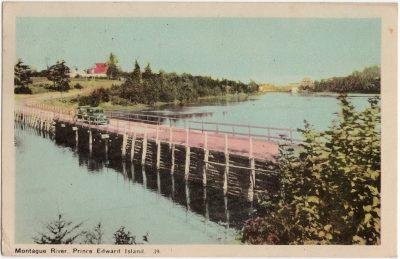 , Montague River, Prince Edward Island. (0939), PEI Postcards