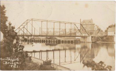 , Montague Bridge, P.E.I. (0937), PEI Postcards