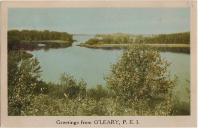 , Greetings from O'Leary, P.E.I. (0918), PEI Postcards