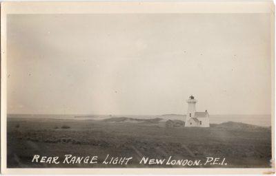 , Rear Range Light, New London, P.E.I. (0916), PEI Postcards