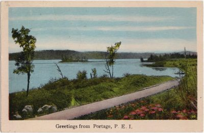 , Greetings from Portage, P.E.I. (0914), PEI Postcards