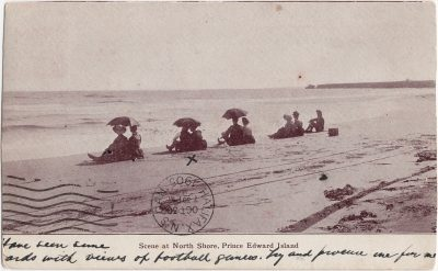 , Scene at North Shore, Prince Edward Island (0913), PEI Postcards
