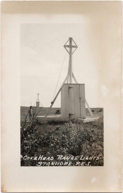 , Cove Head Range Lights Stanhope, P.E.I. (0905), PEI Postcards