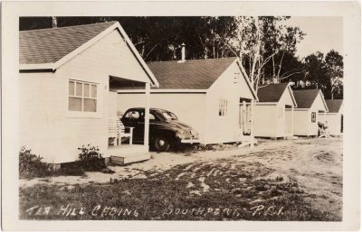 , Tea Hill Cabins, Southport, P.E.I. (0906), PEI Postcards