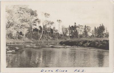 , Dunk River, P.E.I. (0900), PEI Postcards