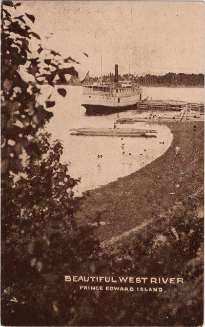 , Beautiful West River Prince Edward Island (0978), PEI Postcards