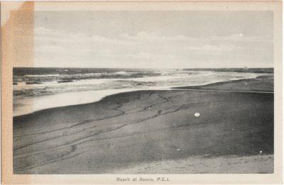 , Beach at Souris, P.E.I. (0973), PEI Postcards