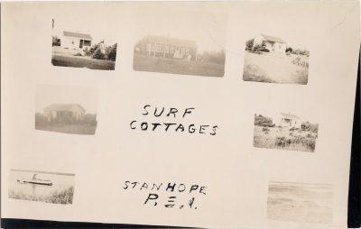 , Surf Cottages, Stanhope, P.E.I. (0964), PEI Postcards