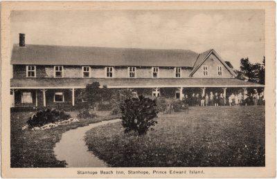 , Stanhope Beach Inn, Stanhope, Prince Edward Island (0966), PEI Postcards