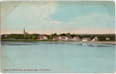, View of North Side, St. Peter's Bay, P.E. Island (0967), PEI Postcards