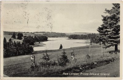, New London, Prince Edward Island (0956), PEI Postcards