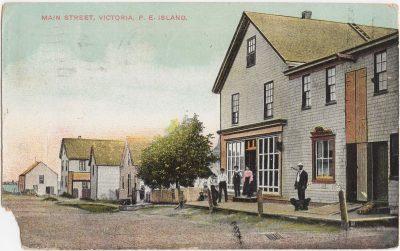 , Main Street, Victoria, P.E. Island. (0974), PEI Postcards