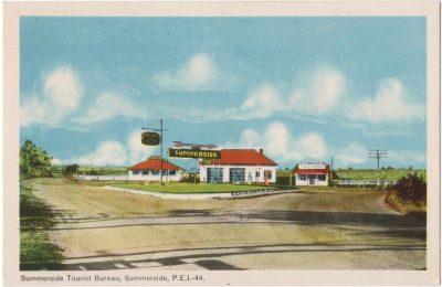 , Summerside Tourist Bureau, Summerside, P.E.I. (0036), PEI Postcards