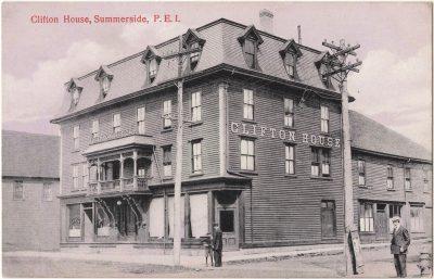 , Clifton House, Summerside, P.E.I. (0041), PEI Postcards