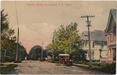 , Granville Street, Summerside, P.E. Island (0045), PEI Postcards