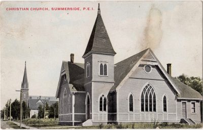 , Christian Church, Summerside, P.E.I. (0044), PEI Postcards
