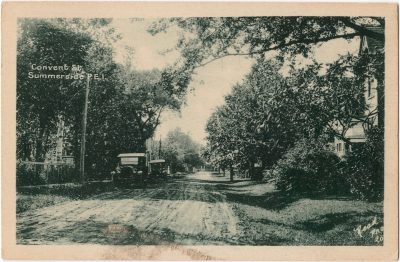 , Convent St., Summerside P.E.I. (0058), PEI Postcards