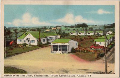 , Garden of the Gulf Court, Summerside, Prince Edward Island, Canada (0073), PEI Postcards