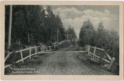 , Freetown Road Summerside, P.E.I. (0075), PEI Postcards