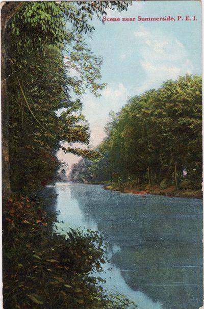 , Scene near Summerside, P.E.I. (0081), PEI Postcards