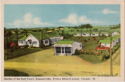 , Garden of the Gulf Court, Summerside, Prince Edward Island, Canada (0071), PEI Postcards