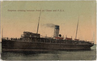 , Empress Crossing between Point du Chene and P.E.I. (0086), PEI Postcards