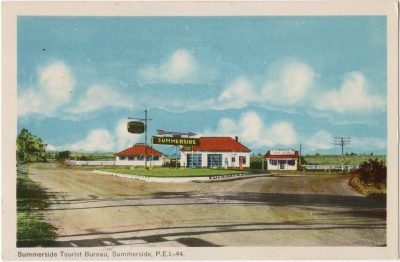 , Summerside Tourist Bureau, Summerside, P.E.I. (0070), PEI Postcards