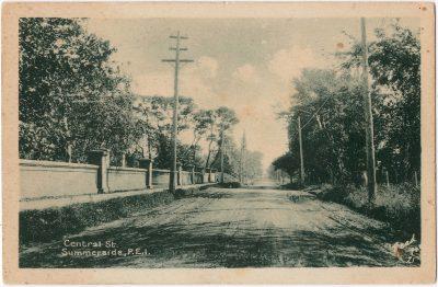 , Central St., Summerside, P.E.I. (0059), PEI Postcards