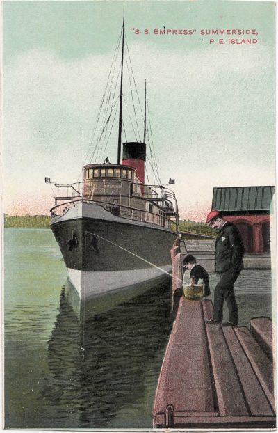", ""S.S. Empress"" Summerside, P.E. Island (0065), PEI Postcards"