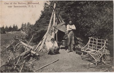 , One of the Natives, Richmond, near Summerside, P.E.I. (0052), PEI Postcards