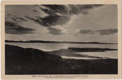 , Richmond Bay Summerside Prince Edward Island (0066), PEI Postcards