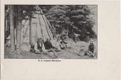 , P.E. Island Micmacs (0108), PEI Postcards