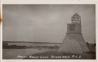 , Front Range Light, Annandale, P.E.I. (0100), PEI Postcards