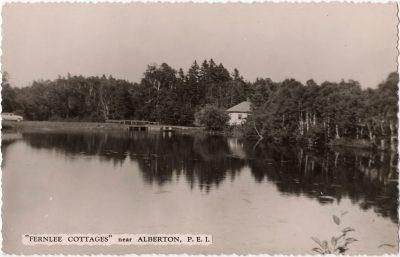", ""Fernlee Cottages"" near Alberton, P.E.I. (0095), PEI Postcards"