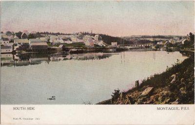 , South Side Montague, P.E.I. (0995), PEI Postcards