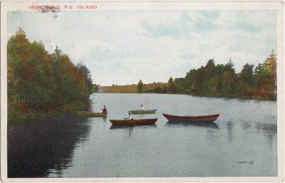 , Montague, P.E. Island (1003), PEI Postcards