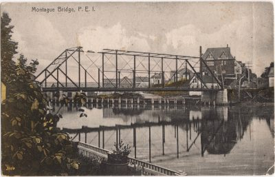 , Montague Bridge, P.E.I. (0990), PEI Postcards
